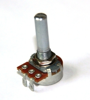 Dimmer Knob 5 000 Ohm Reverse Audio Taper Potentiometer